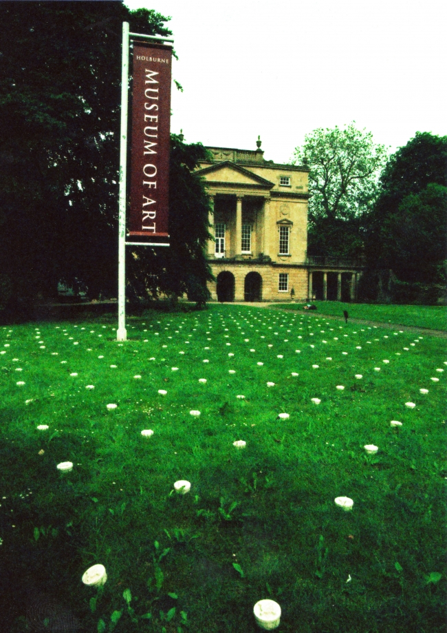 Karen Thompson, Karen T, KarenT, Holburne Museum of Art, bath, Ceramic Installation, Political, Socially conscious, Porcelain, PMN2 Landmines,