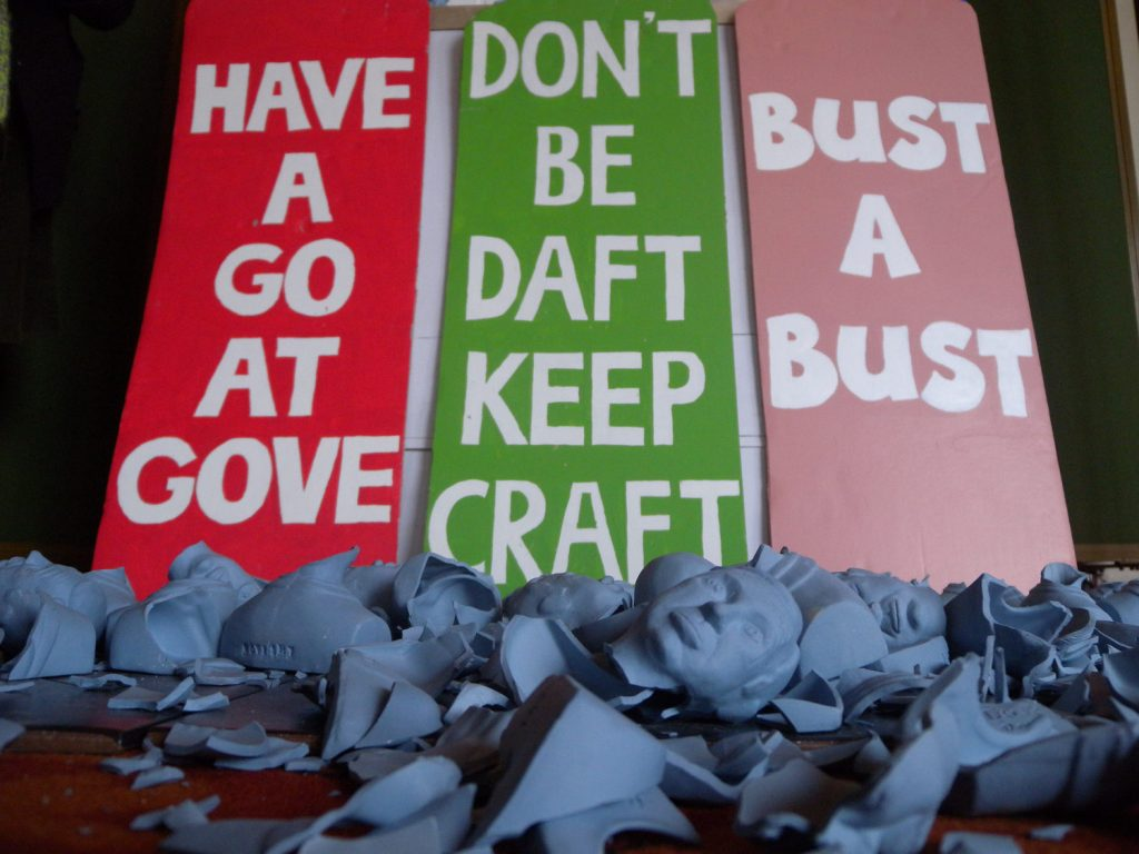 Karen Thompson, Karen T, KarenT, Goveshy, Art Party Conference, Michael Gove, Education, Political, Bob and Roberta Smith, Wedgwood