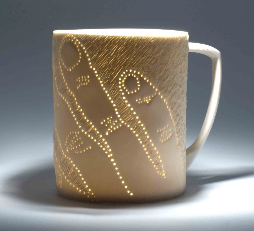 Karen Thompson, KarenT, Karen T, Ceramics, Ceramicist, Porcelain, Tableware, Art, Pierced