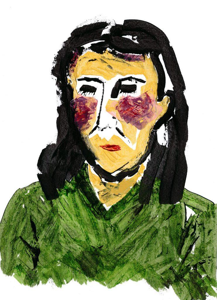 Watercolour and Ink drawing, Illustration, Karen Thompson, Karen T, KarenT