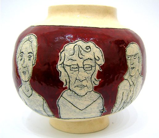 Karen Thompson, KarenT, Karen T, Ceramics, Ceramicist, Earthenware, Slips, Tableware, Art